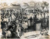 Primeira Missa na Paróquia