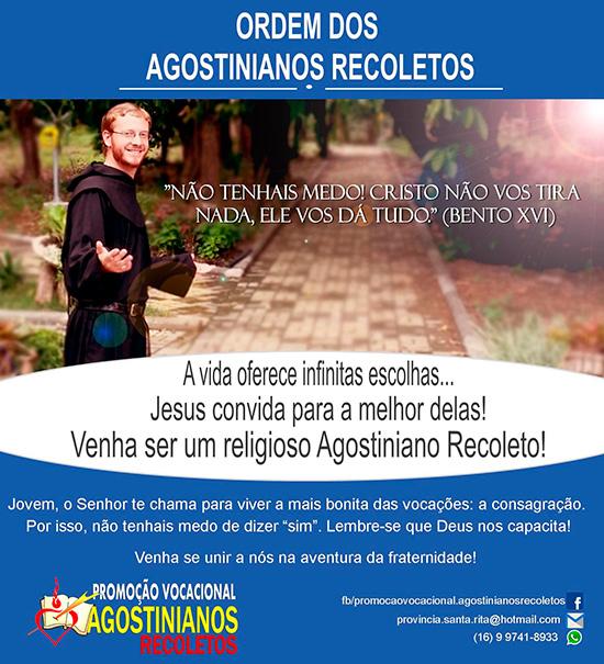 Promoção Vocacional Agostinianos Recoletos