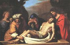 Jesus é retirado da Cruz...