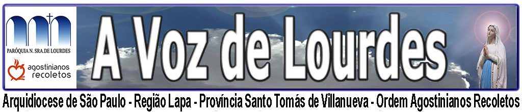 A Voz de Lourdes - Banner-Blog